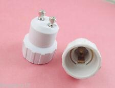 10X GU10 to E14 Base LED Halogen CFL Light Bulb Lamp Adapter Converter Holder