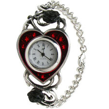 GENUINE Alchemy Gothic Watch - Bed Of Blood Roses | Ladies Fashion Jewellery