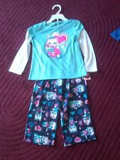 NWT GIRLS JOE BOXER PAJAMAS KITTENS RIDING A SCOOTER & BICYCLE SIZE 4T