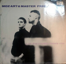 DISCO 33 GIRI  Moz-Art & Master Freez ‎– Let The Music Move Me