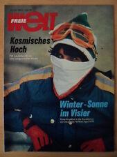 FREIE WELT 20 1978 * Kosmonautenbesuch in DDR Winterreisen in SU Tiertheater