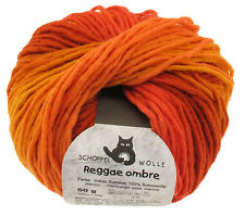 Schoppel Wolle 50g Reggae ombré Farbe 1873 Indian-Summer