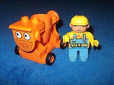 LEGO DUPLO MIXI BETONMISCHER + 1 X BOB DER BAUMEISTER FIGUR
