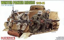 Dragon 1/35 6513 WWII German Winter Panzer Riders (1943-1944) (4 Figures)