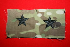 GENUINE US ARMY MTP MCU MULTICAM PAINTBALL 1 STAR GENERAL RANK INSIGNIA CLOTH