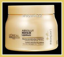 L'OREAL Absolut Repair Lipidium Masque treatment mask 500ml very damaged hair