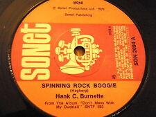 """HANK C BURNETTE - SPINNING ROCK BOOGIE    7"""" VINYL"""