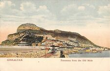 B95886 panorama from the old mole   gibraltar