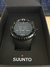 SUUNTO CORE BLACK OUTDOOR SPORT MILITARY WATCH  Like new Condition !