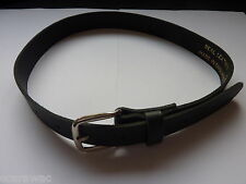 """QUALITY BOYS/CHILDRENS BLACK LEATHER BELTS 18""""-24"""" WAIST -NICE SMALL SIZE"""