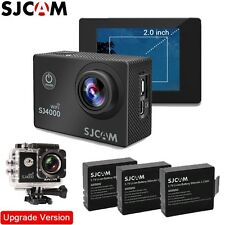 SJCAM SJ4000 Wifi1080P Digital Sports Waterproof Helmet Camera+Extra 2 Batteries