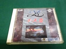NEC PC Engine CD-ROM -- Ys 3 -- JAPAN GAME Clean & Work fully!! 11333