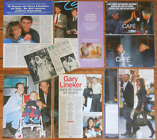 GARY LINEKER spanish clippings photos F.C.Barcelona Football magazine futbol