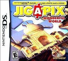 Jigapix: Wonderful World (Nintendo DS, 2010) DS NEW