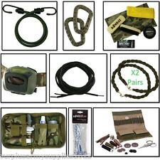 BRITISH ARMY RECRUIT KIT LIST SEWING TENT PEGS HEAD TORCH LACES TWISTERS BUNGEES