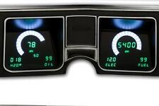 1968 Chevelle DIGITAL DASH  instrument gauge cluster Intellitronix GREEN LEDs!