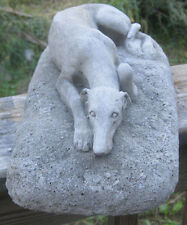 Concrete greyhound Garden statue or memorial