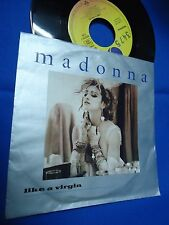 MADONNA - LIKE A VIRGIN - GERMANY 45 SINGLE