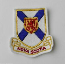 CANADA NOVA SCOTIA WORLD COUNTRY EMBROIDERED PATCH SEW ON 2 X 3 INCHES