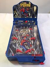 Spider-Man Electronic Pinball Table Top Game 2004 Funrise Toys Marvel WORKS xmen