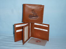 ST. LOUIS CARDINALS    Leather BiFold Wallet   NEW    brown k 4+