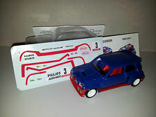 SOLIDO RENAULT 5 MAXI TURBO 1/43 N°3 DÉCALQUES MADE IN FRANCE N°14 MIN000163