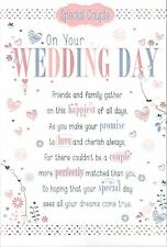 3-fold Pop-Up WEDDING DAY CARD ~ From the Say it with words Collection