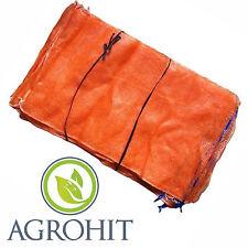 Raschelsäcke 50 Stück 25 kgFruchtsäcke,Kartoffelsäcke Raschelsäcke mit Zugband