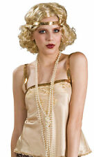 Adult 1920's All That Jazz White Pearl Necklace 60""