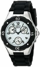 New Invicta 18787 Special KJLANE Ladies Angel White Dial Black Strap Watch