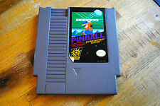 Jeu PINBALL pour Nintendo NES