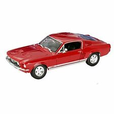 Maisto 1:18 Scale 1967 Ford Mustang GTA Fastback Diecast Vehicle (Colors May