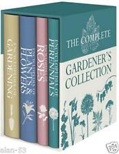 RHS ~ COMPLETE GARDENER'S COLLECTION 4 VOL SLIPCASED SET ~ FOLIO SOCIETY ~ NEW