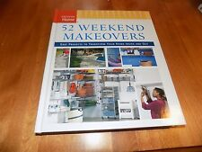 52 WEEKEND MAKEOVERS TAUNTON PRESS Home Repair Improvement Projects Project Book