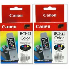 Twin Ink Tank BCI-21 Color for BC21e Canon BJC-2000/4000/5000/MultiPASS/C5000