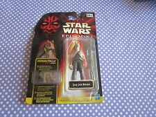 star wars jar jar binks on card
