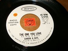 SANDRA & GAYL - THE ONE YOU LOVE - STEP IT UP  / LISTEN - GIRL POPCORN