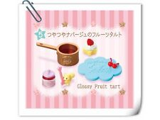 New~Re-ment Little Twin Star Twinkles Sweets Factory Glossy Fruit Tart - No.5