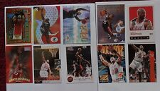 1866 ~ Lot of 10 Different Alonzo Mourning NBA Basketball Cards ~ Miami Heat