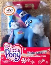 My Little Pony G3 Christmas Figure MARSHMELLOW COCO 2003 Brand New
