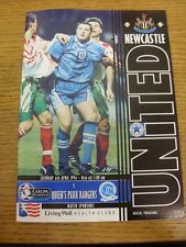 06/04/1996 Newcastle United v Queens Park Rangers  . Condition: Listed previousl