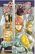 THE SEVEN DEADLY SINS 16 STAR COMICS NUOVO