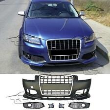 FRONT BUMPER FOR AUDI A3 8P 05-08 S3 LOOK SPOILER BODY KIT NEW S-LINE