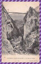 Alrededores Aix los Bains - el puente del' abismo