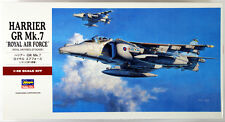"Hasegawa PT36 HARRIER GR Mk.7 ""Royal Air Force"" 1/48 Scale Kit"