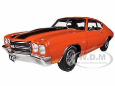 1970 CHEVROLET CHEVELLE SS 454 LS6 ORANGE 1/18 LTD TO 996PC BY ACME A1805502