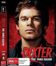 Dexter : Season 3 (DVD, 2009, 4-Disc Set)