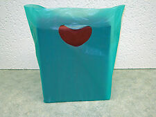 "Small  7""x3""x12"" Plastic Merchandise Shopping Bags You Pick Color & Lot Qty."