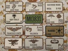 Patch Toppa CALL SIGN SOFTAIR AIRSOFT esercito PJ SEAL DELTA SF MARINES recon