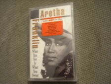SEALED RARE OOP Aretha Franklin CASSETTE TAPE soul WHAT YOU SEE Luther Vandross